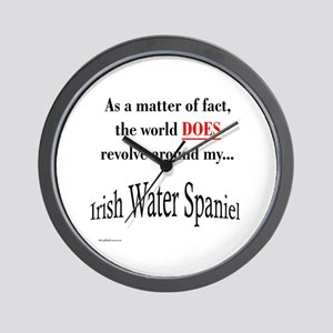 Water Spaniel World Wall Clock