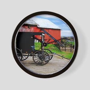 11x11 barn2 Wall Clock