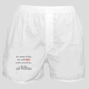 Wolfhound World Boxer Shorts