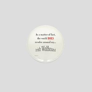 Wolfhound World Mini Button