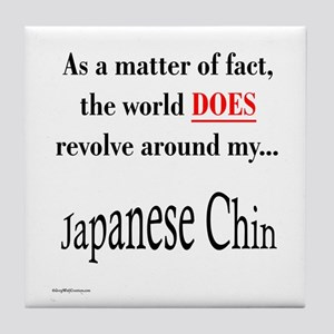 Chin World Tile Coaster
