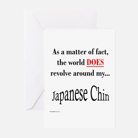 Chin World Greeting Cards (Pk of 10)