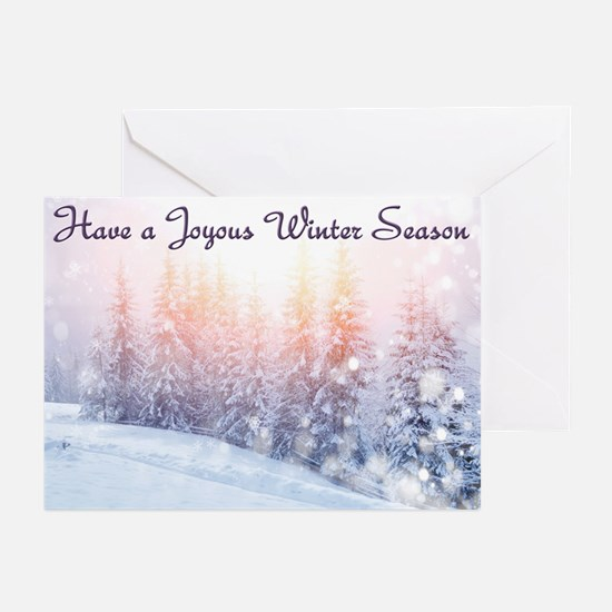 Winter Season Greeting Cards (Pk Of 20)