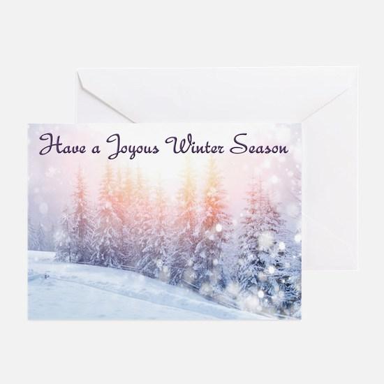 Winter Season Greeting Cards (Pk Of 10)