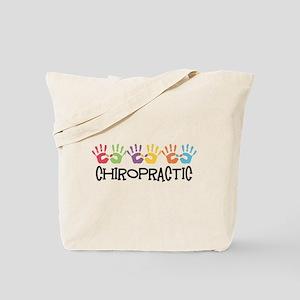 Chiropractic Hands Tote Bag