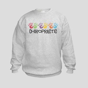 Chiropractic Hands Kids Sweatshirt