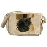 Hamster Canvas Messenger Bags