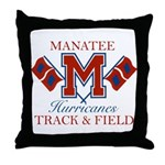 Hurricanes Track & Field Throw Pillow