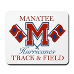 Hurricanes Track & Field Mousepad