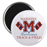 Hurricanes Track & Field Magnet