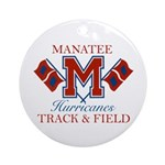 Hurricanes Track & Field Ornament (Round)