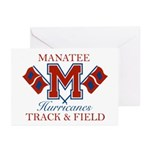 Hurricanes Track & Field Greeting Cards