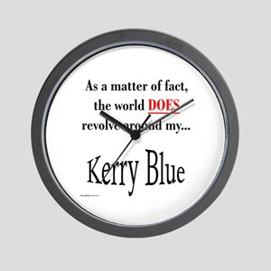 Kerry Blue World Wall Clock