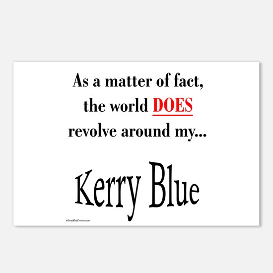 Kerry Blue World Postcards (Package of 8)