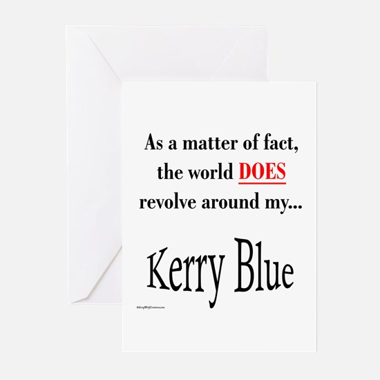 Kerry Blue World Greeting Cards (Pk of 10)