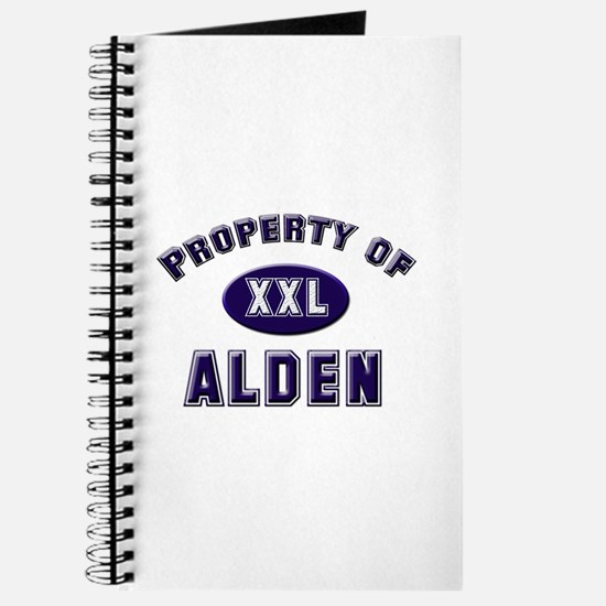 Property of alden Journal