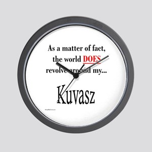 Kuvasz World Wall Clock