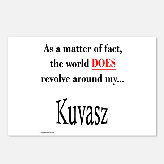 Kuvasz World Postcards (Package of 8)