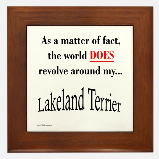 Lakeland World Framed Tile