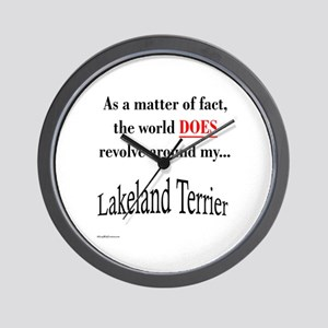 Lakeland World Wall Clock