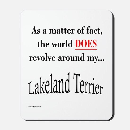Lakeland World Mousepad