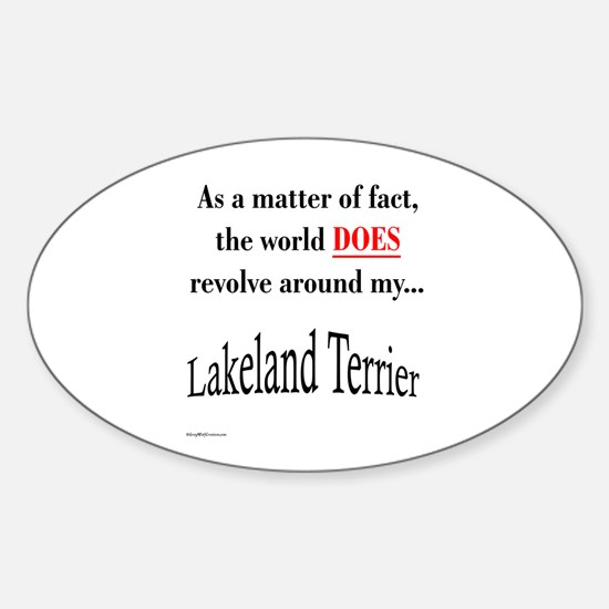 Lakeland World Oval Decal