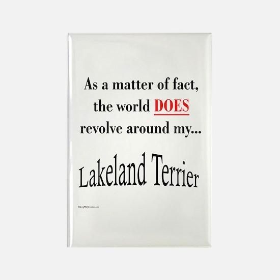 Lakeland World Rectangle Magnet