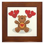 Teddy Bear Framed Tile