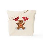 Teddy Bear Tote Bag
