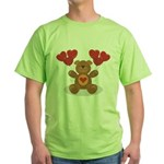 Teddy Bear Green T-Shirt