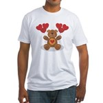 Teddy Bear Fitted T-Shirt
