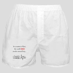 Lhasa Apso World Boxer Shorts