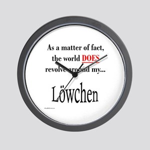 Lowchen World Wall Clock