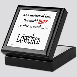 Lowchen World Keepsake Box