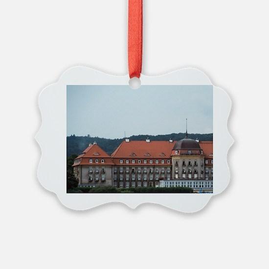 Sopot health resort, near Gdansk. Ornament