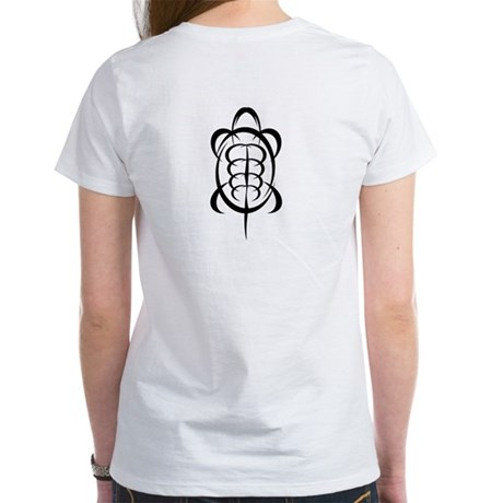 Tribal Turtle Women's T-Shirt