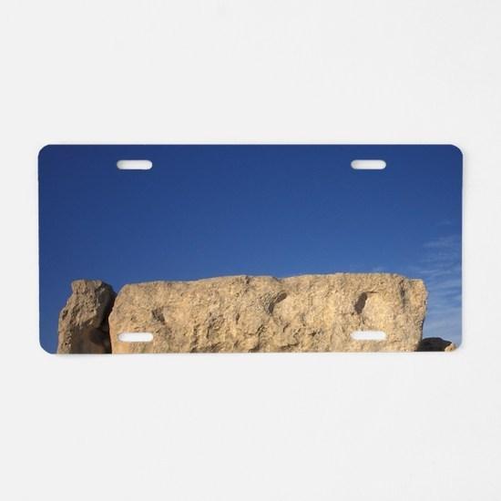 EUROPE, Malta Prehistoric H Aluminum License Plate