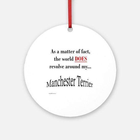 Manchester World Ornament (Round)