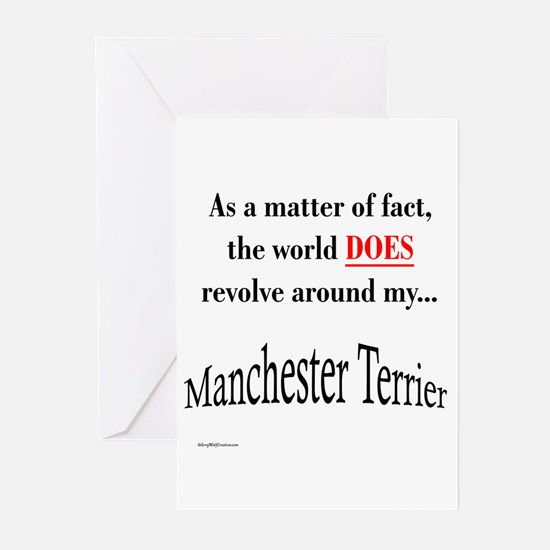Manchester World Greeting Cards (Pk of 10)