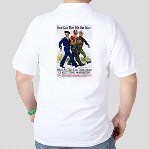 Gays Go To War Golf Shirt