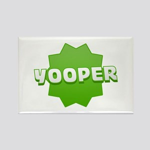 Yooper Badge Rectangle Magnet