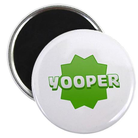 """Yooper Badge 2.25"""" Magnet (10 pack)"""