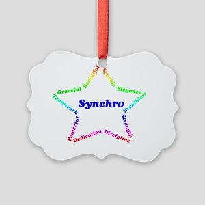 synchrostar1 Picture Ornament