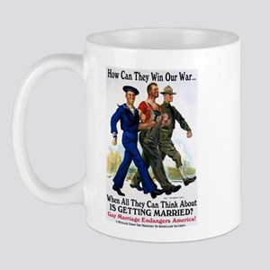 Gays Go To War Mug
