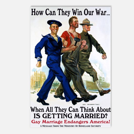 Gays Go To War Postcards (Package of 8)