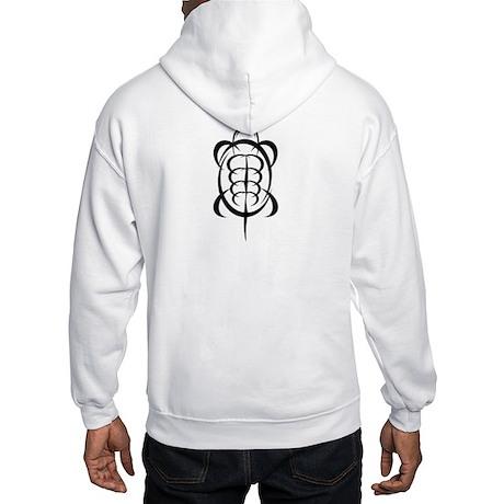 Tribal Turtle Hooded Sweatshirt