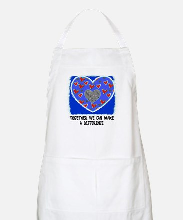 TOGETHER WE CAN MAKE A DIFFERENCE BBQ Apron