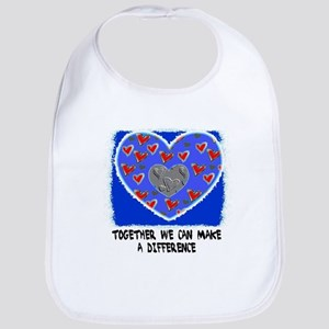 TOGETHER WE CAN MAKE A DIFFERENCE Bib