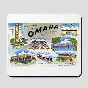 Omaha Nebraska Mousepad