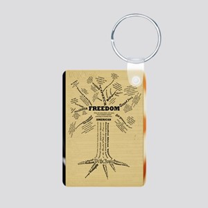 FreedomTree-LGPSTR Aluminum Photo Keychain